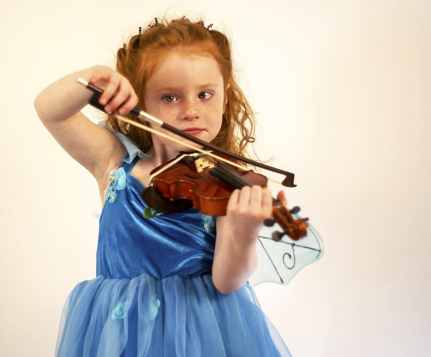 Violinos sonoridade musical
